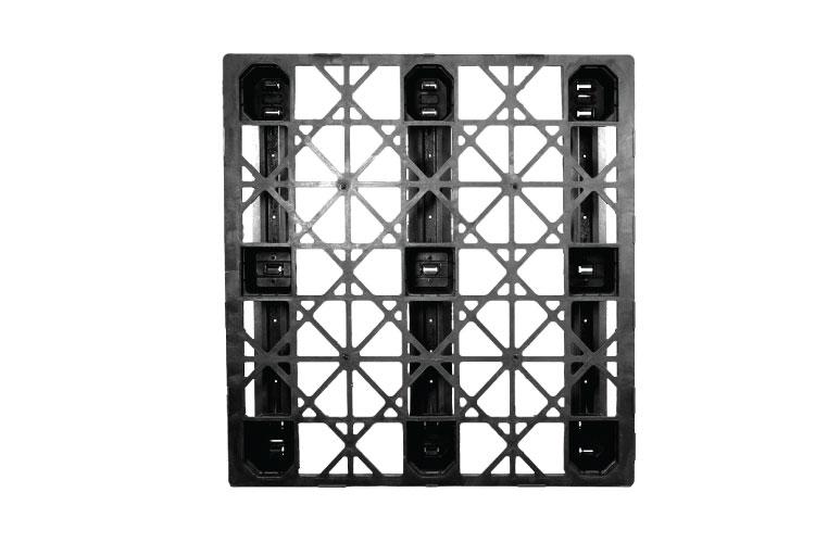 Pallet nhựa một mặt màu đen CNX-20
